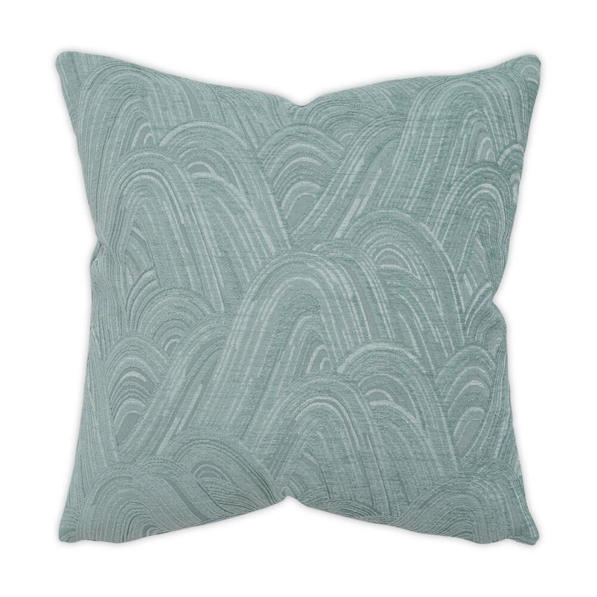 Moss Home Hidden Hills Pillow,  trend throw pillow, accent pillow, hidden hills throw pillow in aqua