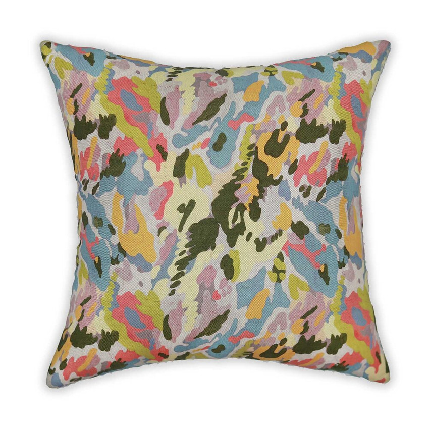 Moss Home Big Bang Pillow,  trend throw pillow, accent pillow, big bang throw pillow in multi