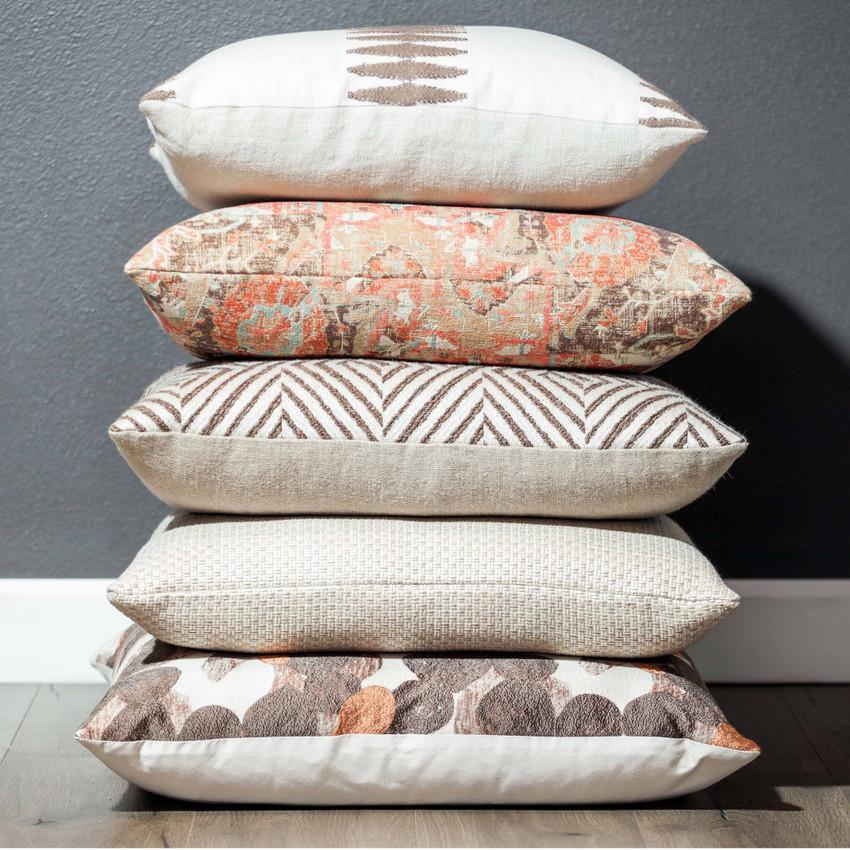 "Moss Home Ani 22"" Pillow in Sunrise, 22"" throw pillow, accent pillow, decorative pillow"