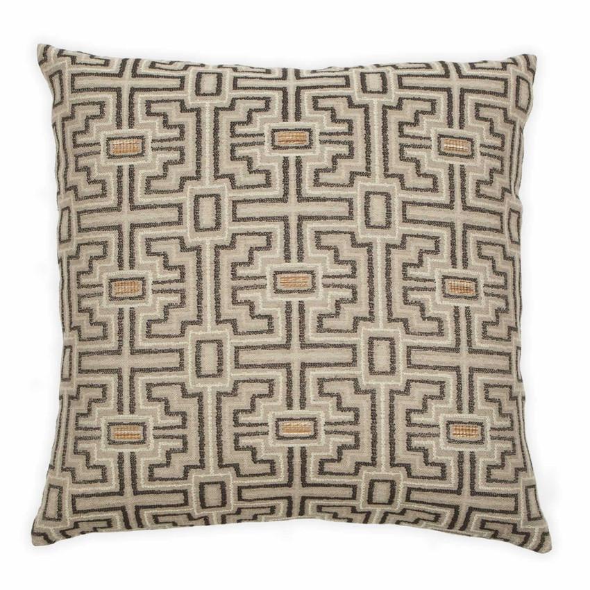 """Moss Home Empire 22"""" Pillow in Pepper, 22"""" throw pillow, accent pillow, decorative pillow"""