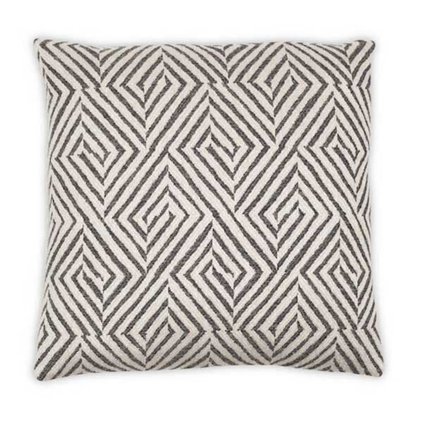 "Moss Home Jamie 22"" Pillow in Graphite, 22"" throw pillow, accent pillow, decorative pillow"