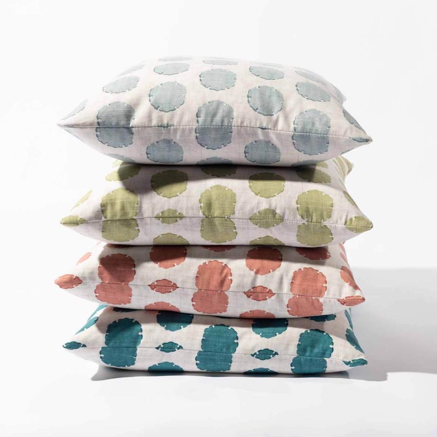 "Moss Home Capri 22"" Pillow in Grapefruit,  22"" throw pillow, accent pillow, decorative pillow"