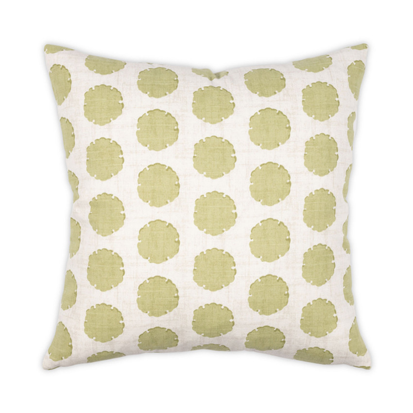 "Moss Home Capri 22"" Pillow in Leaf,  22"" throw pillow, accent pillow, decorative pillow"