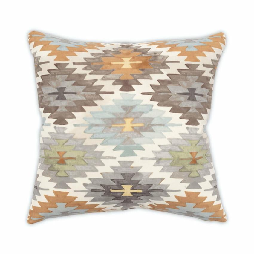 """Moss Home Nomad 22"""" Pillow in Desert, 22"""" throw pillow, accent pillow, decorative pillow"""
