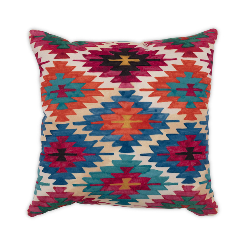 """Moss Home Nomad 22"""" Pillow in Jewel, 22"""" throw pillow, accent pillow, decorative pillow"""
