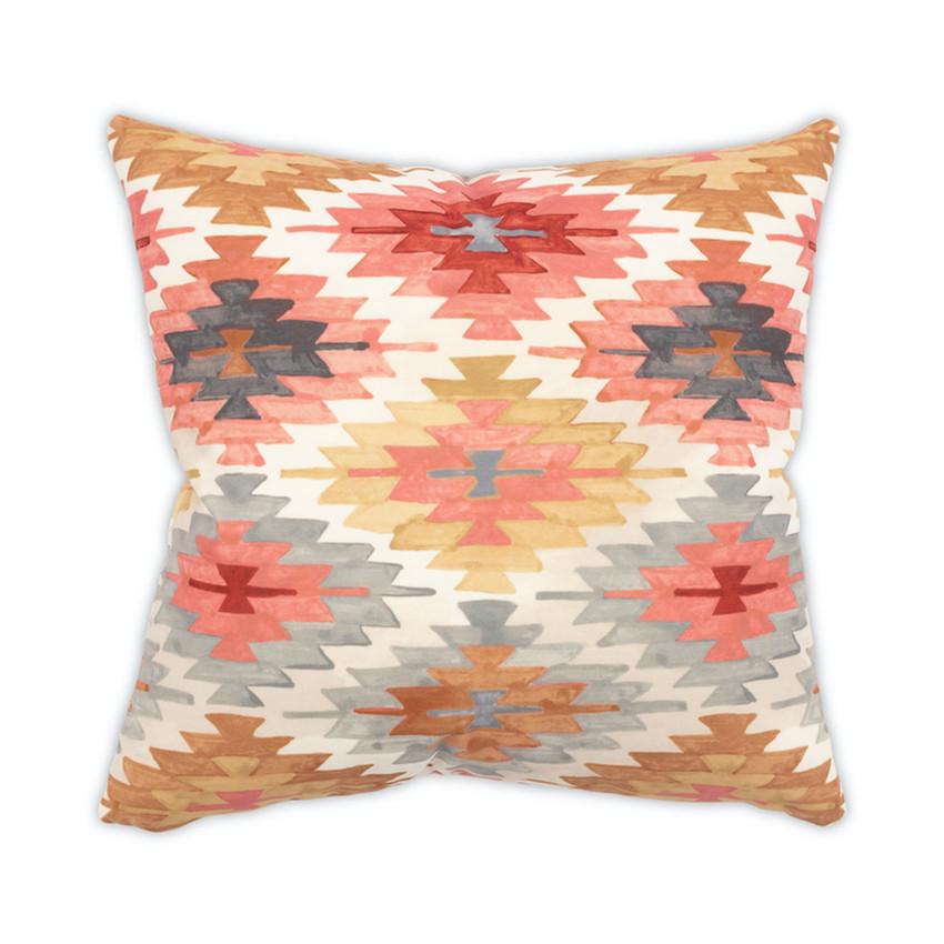 "Moss Home Nomad 22"" Pillow in Sunset, 22"" throw pillow, accent pillow, decorative pillow"