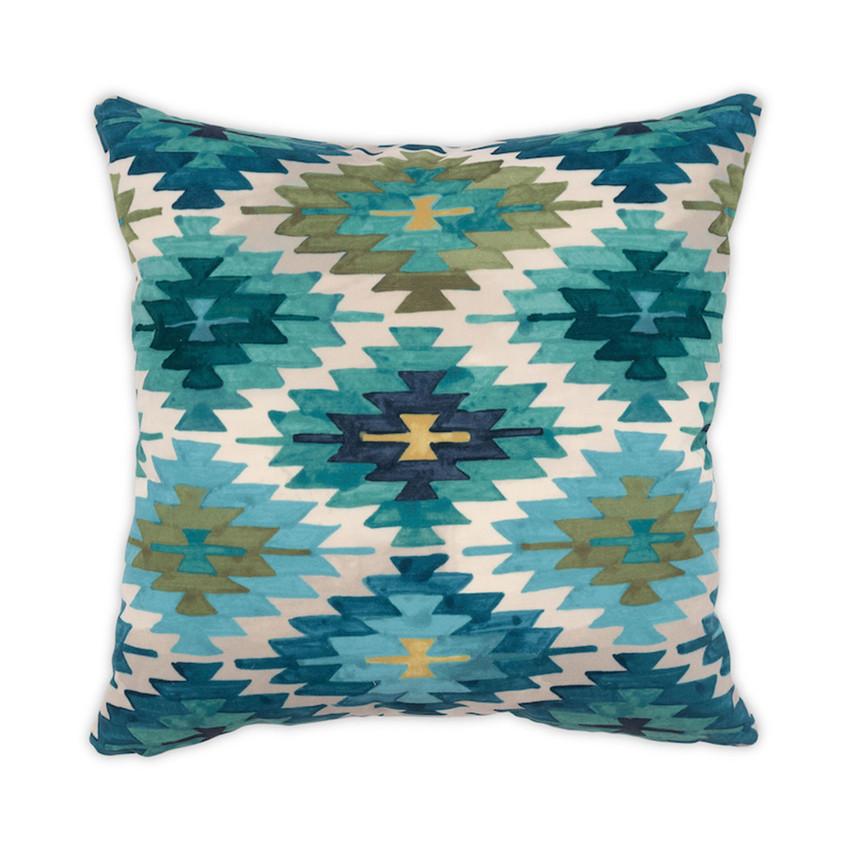 "Moss Home Nomad 22"" Pillow in Verdant, 22"" throw pillow, accent pillow, decorative pillow"