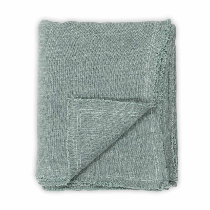 Moss Home Maya Throw, accent throw blanket, decorative throw, maya throw in aqua