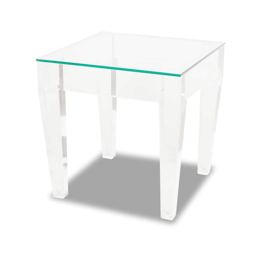 Ice Square End Table
