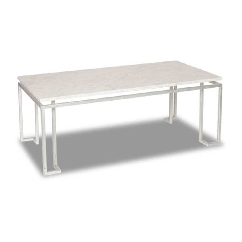 Moss Home - Made in the USA Linear Coffee Table, Moss Studio Linear Coffee Table