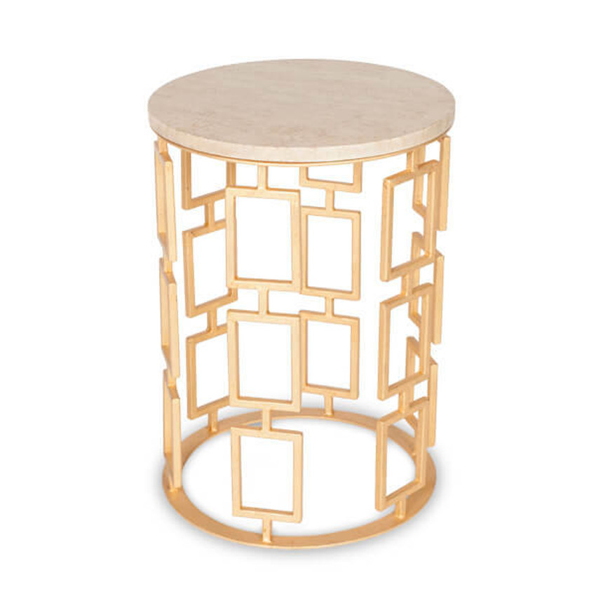 Prism Round End Table