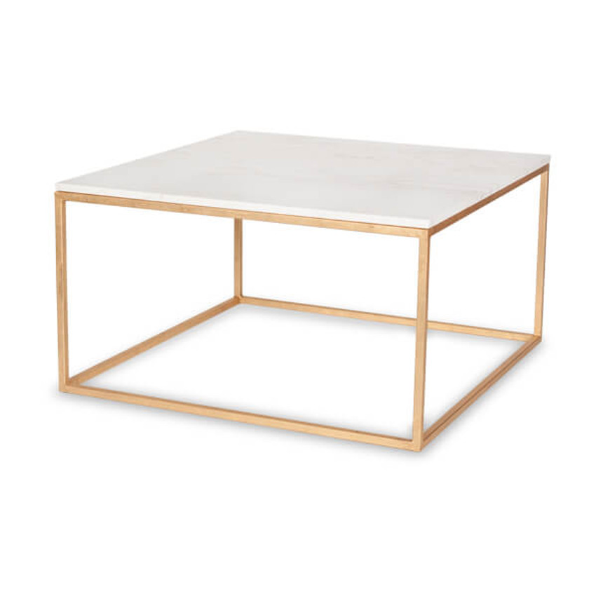 Moss Home - Made in the USA Cube Coffee Table, Moss Studio Cube Coffee Table