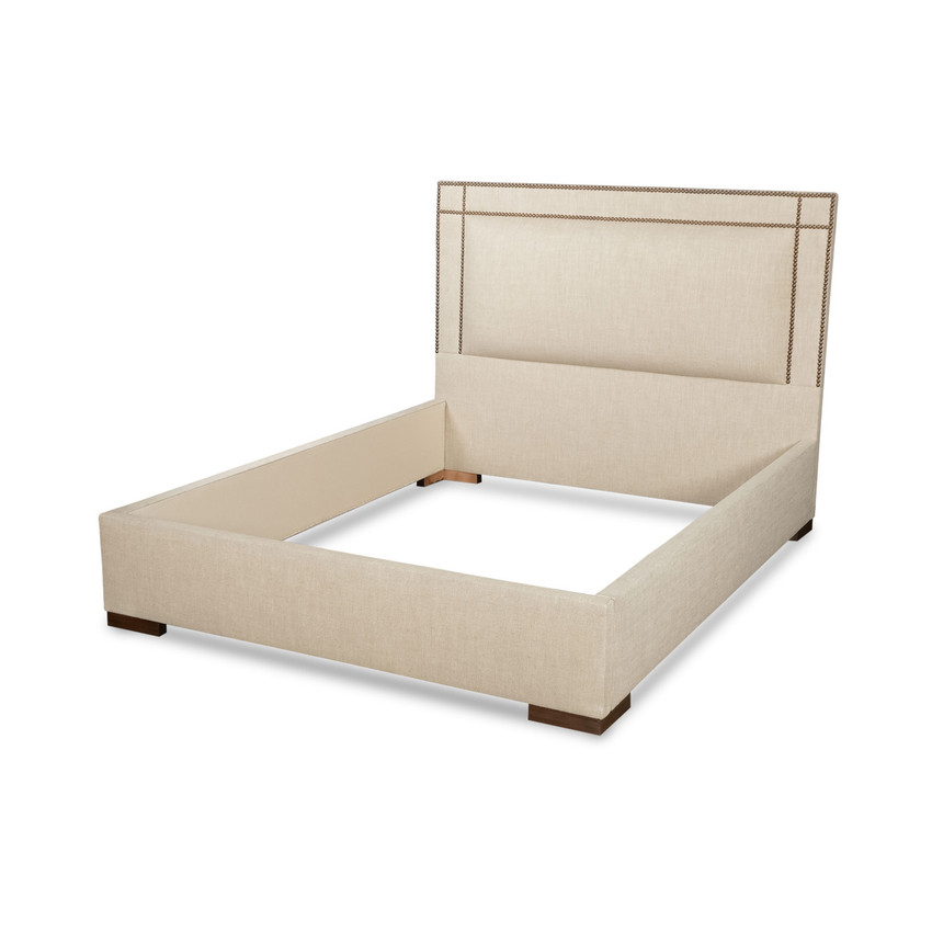 Moss Home - Made in the USA Harrison Bed, Moss Studio Harrison Bed