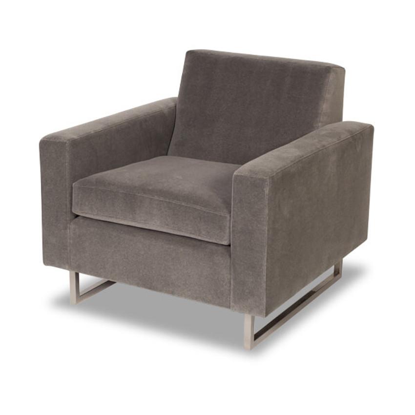 Moss Home - Made in the USA Ella Chair, Moss Studio Ella Chair