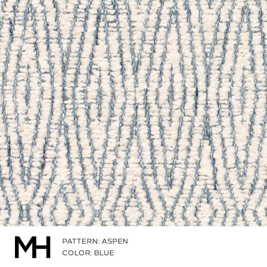 Aspen Blue Fabric Swatch