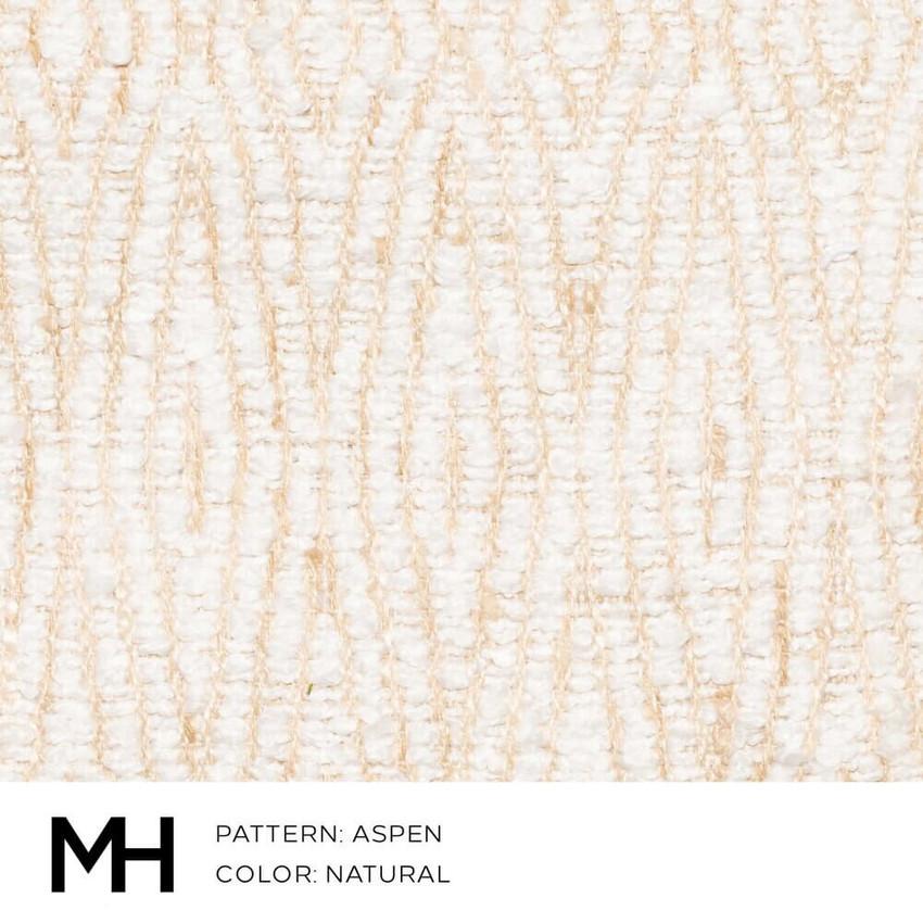 Aspen Natural Fabric Swatch