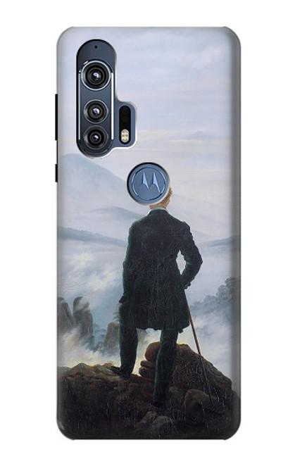 S3789 Wanderer above the Sea of Fog Case For Motorola Edge+