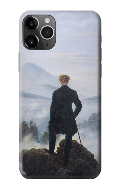 S3789 Wanderer above the Sea of Fog Case For iPhone 11 Pro