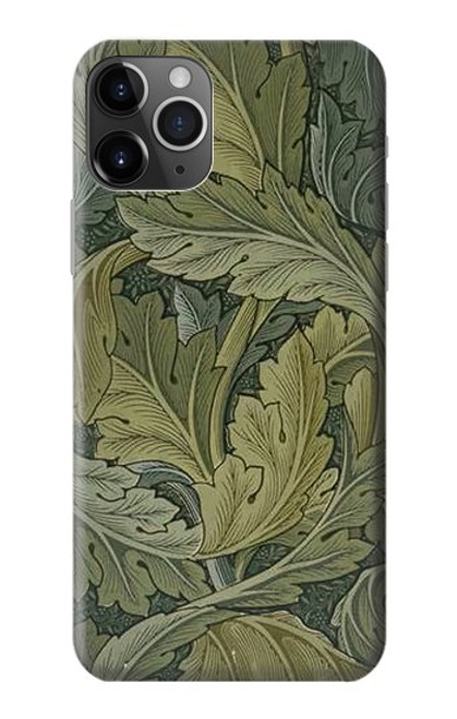 S3790 William Morris Acanthus Leaves Case For iPhone 11 Pro