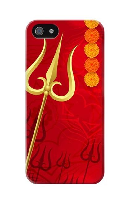 S3788 Shiv Trishul Case For iPhone 5 5S SE