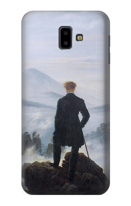 S3789 Wanderer above the Sea of Fog Case For Samsung Galaxy J6+ (2018), J6 Plus (2018)