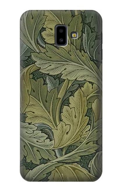S3790 William Morris Acanthus Leaves Case For Samsung Galaxy J6+ (2018), J6 Plus (2018)