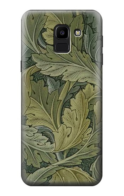 S3790 William Morris Acanthus Leaves Case For Samsung Galaxy J6 (2018)