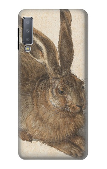 S3781 Albrecht Durer Young Hare Case For Samsung Galaxy A7 (2018)