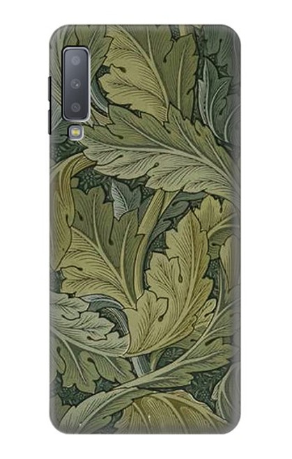 S3790 William Morris Acanthus Leaves Case For Samsung Galaxy A7 (2018)