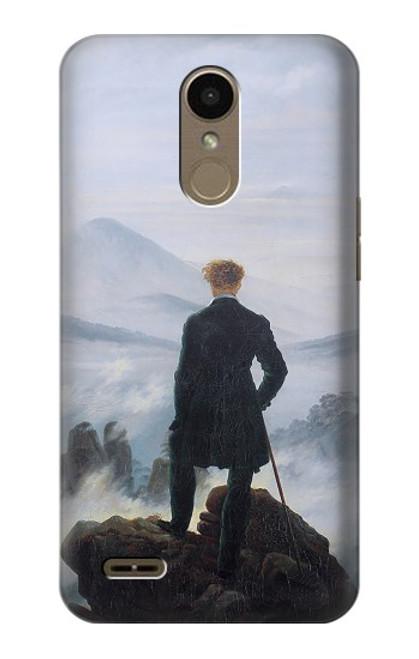 S3789 Wanderer above the Sea of Fog Case For LG K10 (2018), LG K30