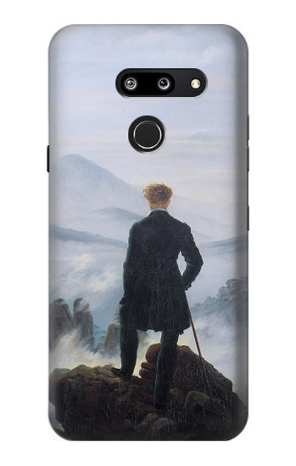 S3789 Wanderer above the Sea of Fog Case For LG G8 ThinQ