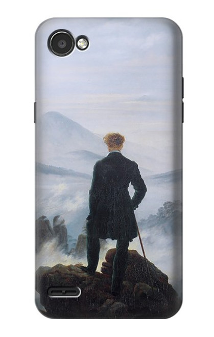 S3789 Wanderer above the Sea of Fog Case For LG Q6