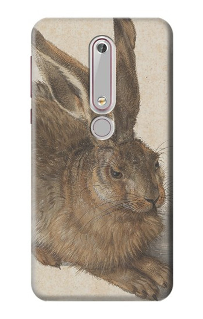 S3781 Albrecht Durer Young Hare Case For Nokia 6.1, Nokia 6 2018