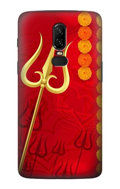 S3788 Shiv Trishul Case For OnePlus 6
