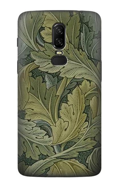 S3790 William Morris Acanthus Leaves Case For OnePlus 6