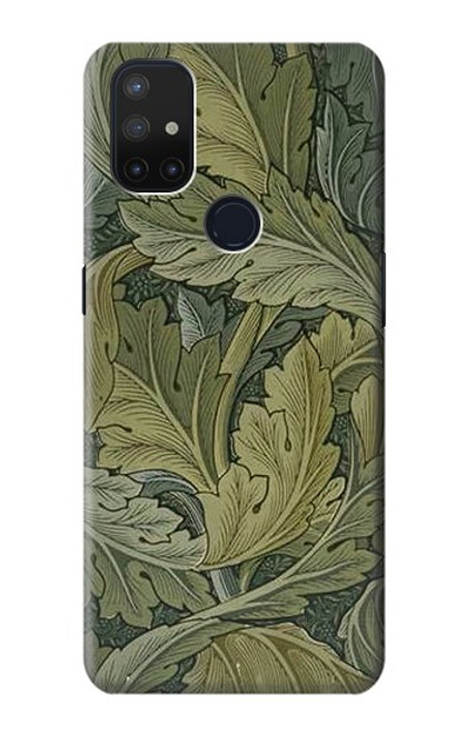S3790 William Morris Acanthus Leaves Case For OnePlus Nord N10 5G