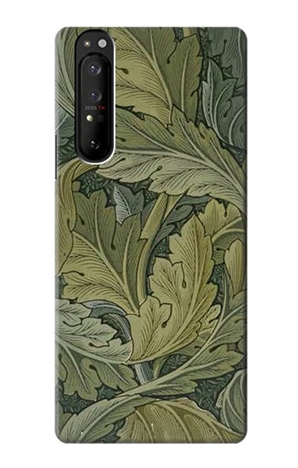 S3790 William Morris Acanthus Leaves Case For Sony Xperia 1 III