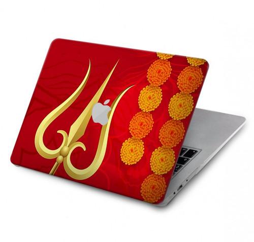 S3788 Shiv Trishul Hard Case For MacBook Pro 13″ - A1706, A1708, A1989, A2159, A2289, A2251, A2338