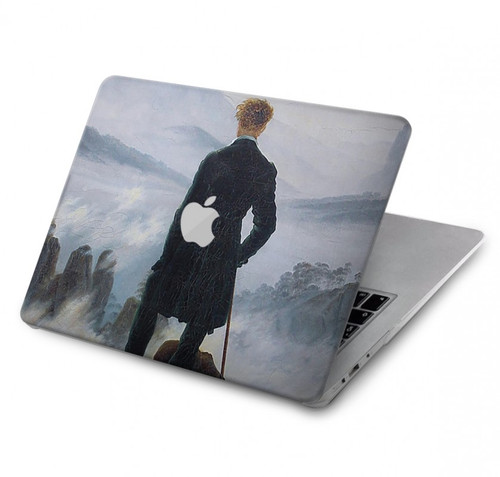 S3789 Wanderer above the Sea of Fog Hard Case For MacBook Pro 13″ - A1706, A1708, A1989, A2159, A2289, A2251, A2338