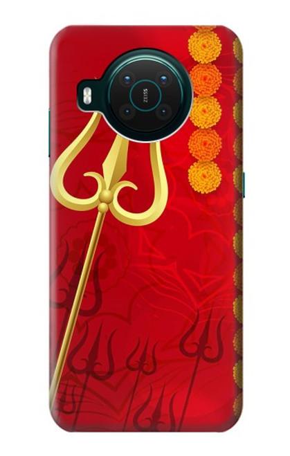 S3788 Shiv Trishul Case For Nokia X10