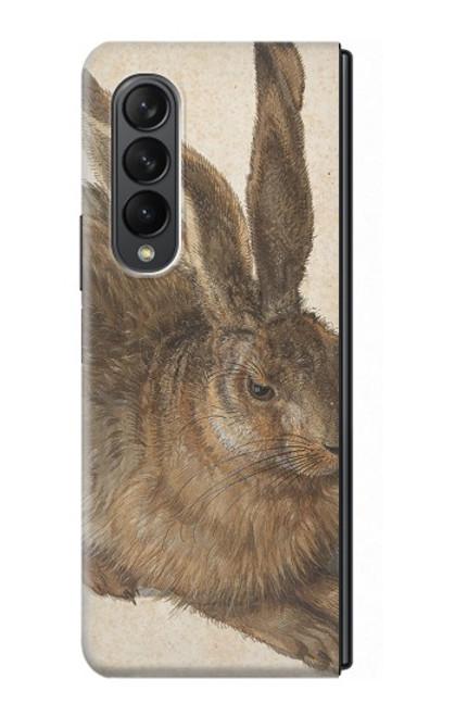 S3781 Albrecht Durer Young Hare Case For Samsung Galaxy Z Fold 3 5G