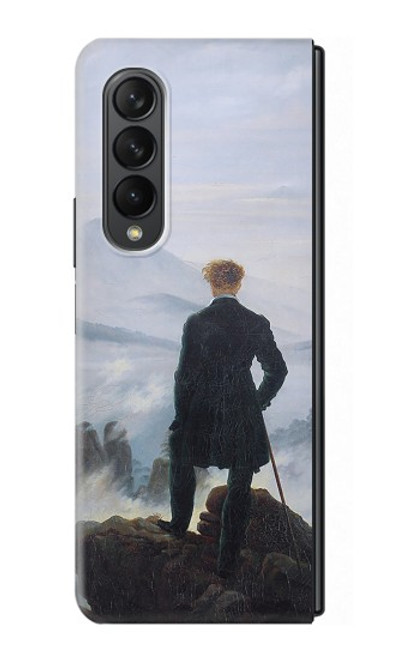 S3789 Wanderer above the Sea of Fog Case For Samsung Galaxy Z Fold 3 5G