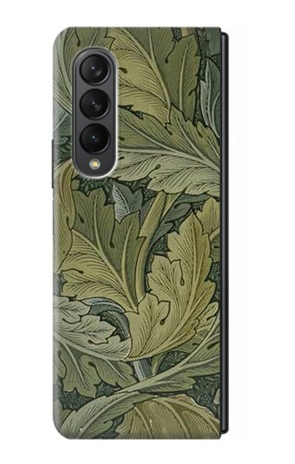 S3790 William Morris Acanthus Leaves Case For Samsung Galaxy Z Fold 3 5G
