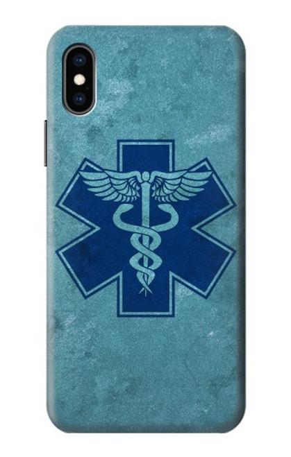 S3824 Caduceus Medical Symbol Case For iPhone X, iPhone XS