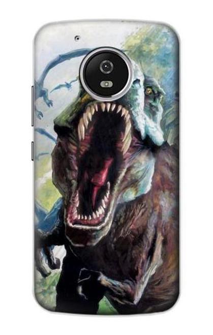 S1453 Trex Tyrannosaurus Rex Dinosaur Case For Motorola Moto G5