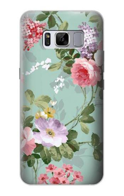 S2178 Flower Floral Art Painting Case For Samsung Galaxy S8