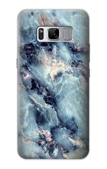 S2689 Blue Marble Texture Graphic Printed Case For Samsung Galaxy S8
