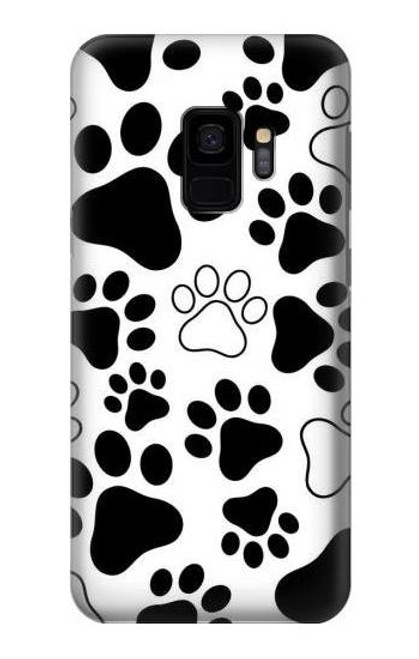 S2904 Dog Paw Prints Case For Samsung Galaxy S9
