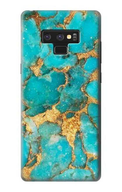 S2906 Aqua Turquoise Stone Case For Note 9 Samsung Galaxy Note9