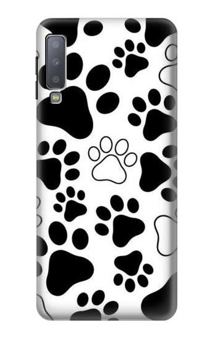 S2904 Dog Paw Prints Case For Samsung Galaxy A7 (2018)